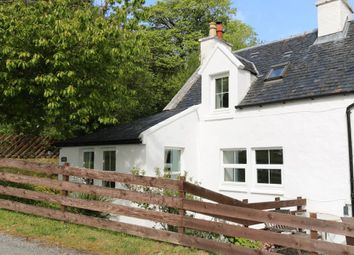 Thumbnail 1 bed semi-detached house for sale in Skeabost Bridge, Portree