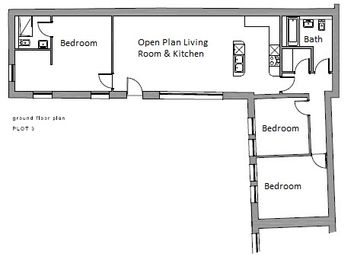 Thumbnail 3 bed barn conversion for sale in Main Street, Brandesburton, Driffield