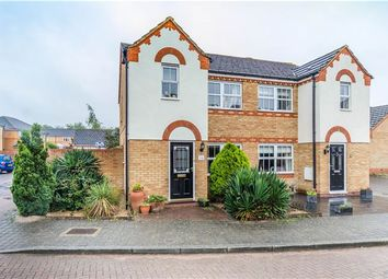 Thumbnail 3 bedroom semi-detached house for sale in Kingfisher Way, Cottenham, Cambridge
