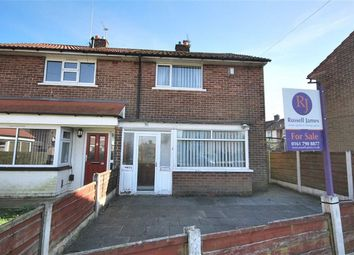 Thumbnail 2 bed semi-detached house for sale in Crescent Drive, Walkden, Manchester