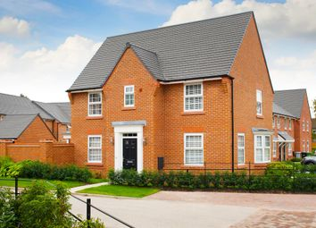 "Thumbnail 4 bed detached house for sale in ""Hollinwood"" at Adlington Road, Wilmslow"