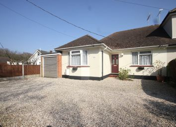 Thumbnail 2 bed semi-detached bungalow for sale in Mount Crescent, Hockley