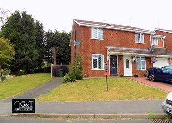 Thumbnail 2 bedroom semi-detached house for sale in Bisell Way, Brierley Hill, Brierley Hill
