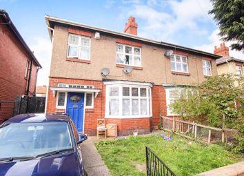 Thumbnail 3 bedroom flat for sale in Shipley Avenue, Fenham, Newcastle Upon Tyne