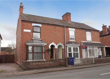 Thumbnail 3 bed end terrace house for sale in Horninglow Road, Burton-On-Trent