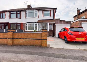 Thumbnail 3 bed semi-detached house for sale in Bishop Road, Flixton, Trafford