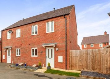 Thumbnail 3 bed semi-detached house for sale in Appledine Way, Bedford, Bedfordshire, .