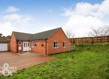 Thumbnail 3 bed detached bungalow for sale in Gray Close, Brundall, Norwich