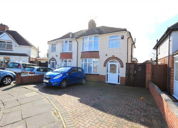 Thumbnail 3 bed semi-detached house to rent in Rockley Road, Leicester