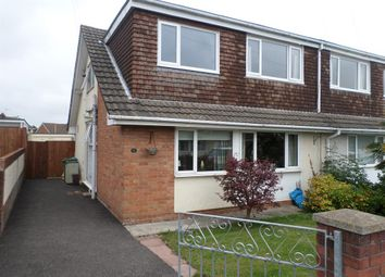 Thumbnail 4 bed semi-detached house for sale in Alyson Way, Pencoed, Bridgend