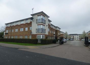 Thumbnail 2 bed flat for sale in Hanbury House, Akerlea Close, Milton Keynes