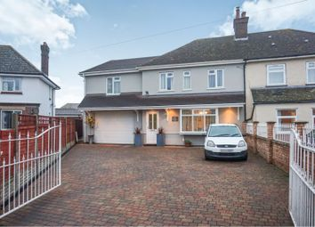 Thumbnail 6 bed semi-detached house for sale in Willington Road, Cople