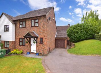 Thumbnail 3 bed end terrace house for sale in Silvertree Close, Walderslade Woods, Chatham, Kent