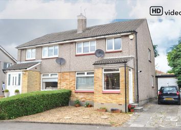 Thumbnail 3 bed semi-detached house for sale in Woodfield Avenue, Bishopbriggs, Glasgow