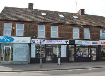 Thumbnail 1 bed flat to rent in West Street, Sittingbourne, Kent