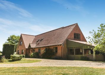 Thumbnail 4 bed detached house for sale in Heydon, Norwich
