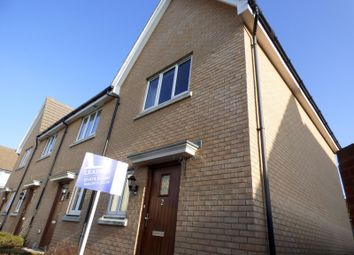 Thumbnail 2 bedroom end terrace house to rent in Ganymede Close, Ipswich