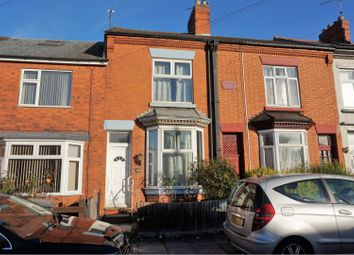 Thumbnail 2 bed terraced house for sale in Marston Road, Leicester