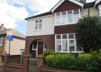 Thumbnail 4 bed semi-detached house to rent in Alma Road, Carshalton