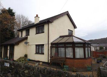 Thumbnail 4 bed detached house for sale in Church Road, Llanberis, Caernarfon, Gwynedd