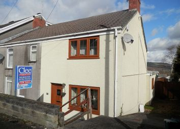 Thumbnail 2 bed end terrace house for sale in Cefn Road, Glais, Swansea.