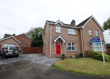 Thumbnail 3 bedroom semi-detached house for sale in Brook Lodge, Ballinderry Lower, Lisburn