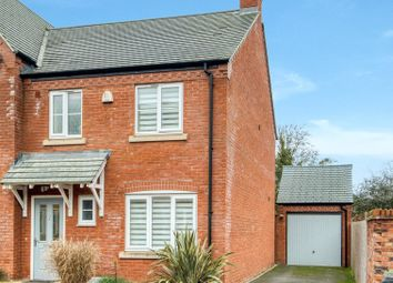 Thumbnail 3 bed semi-detached house for sale in Mayville Close, Pershore, Worcestershire