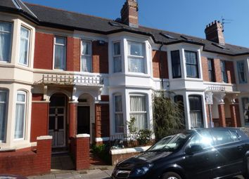 Thumbnail 2 bedroom property to rent in Balaclava Road, Roath, Cardiff