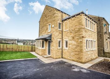 Thumbnail 4 bedroom detached house for sale in Leymoor Road, Golcar, Huddersfield