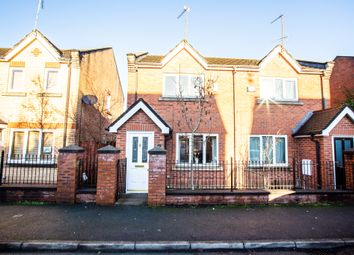 Thumbnail 2 bed semi-detached house to rent in Yew Street, Hulme, Manchester