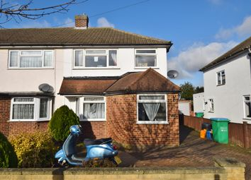 Thumbnail 3 bed semi-detached house to rent in Ringwood Way, Hampton Hill