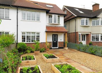 Thumbnail 4 bedroom semi-detached house to rent in Vaughan Road, Thames Ditton