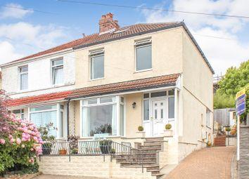 Thumbnail 2 bedroom semi-detached house for sale in Riversdale Road, West Cross, Swansea