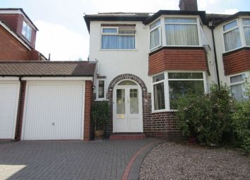 Thumbnail 4 bedroom semi-detached house for sale in Bibury Road, Hall Green, Birmingham
