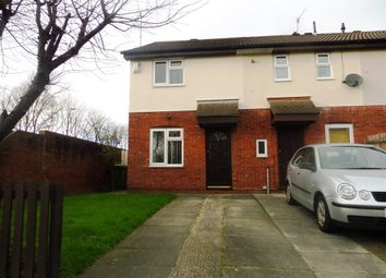 Thumbnail 2 bed semi-detached house to rent in Huddleston Close, Upton, Wirral