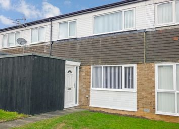 Thumbnail 3 bed terraced house for sale in Loughrigg Avenue, Cramlington