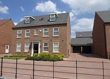 Thumbnail 5 bed detached house to rent in Tournament Court, Edgehill Drive, Chase Meadow Square, Warwick