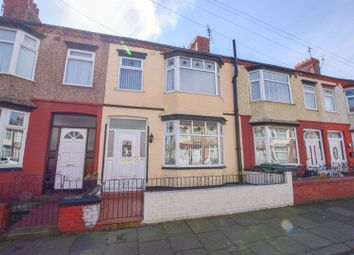 Thumbnail 3 bed terraced house for sale in Inglemere Road, Tranmere