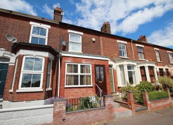 Thumbnail 3 bed terraced house for sale in De Caux Road, Norwich
