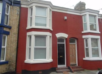 Thumbnail 3 bed terraced house to rent in St Andrew Road, Liverpool, Merseyside