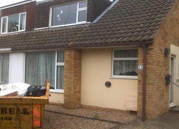 Thumbnail 3 bed semi-detached bungalow for sale in Woodcote Avenue, Northampton