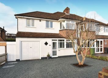 Thumbnail 4 bedroom semi-detached house for sale in Craddocks Avenue, Ashtead