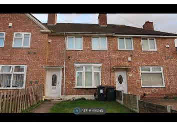 Thumbnail 2 bed terraced house to rent in Loeless Road, Birmingham