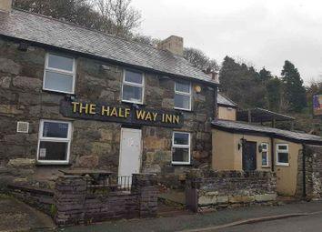 Thumbnail Pub/bar for sale in Hyfrydle Road, Talysarn, Caernarfon
