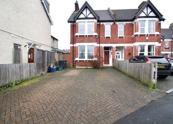 Thumbnail 2 bed flat to rent in Carlton Road, Surrey