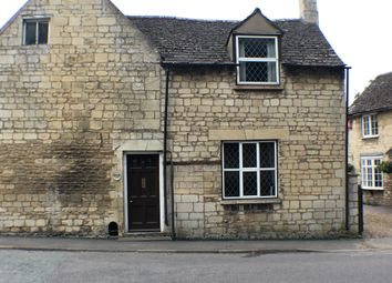 Thumbnail 3 bed cottage to rent in Church Road, Ketton