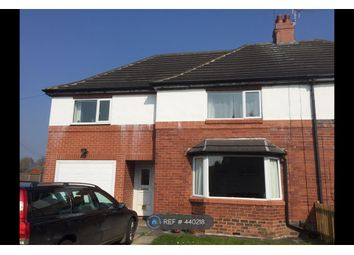 Thumbnail 4 bed semi-detached house to rent in Ainsty Drive, Wetherby