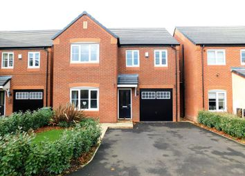 Thumbnail 4 bed detached house for sale in Green Close, Great Haywood, Stafford
