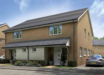 Thumbnail 1 bed semi-detached house for sale in Plot 96, The Knighton, Priors Hall Park