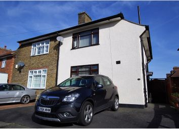Thumbnail 3 bed semi-detached house for sale in Broadmead, London